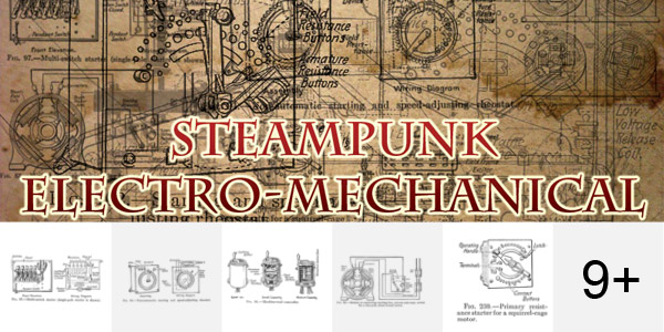 Steampunk Electro-Mechanical Brushes