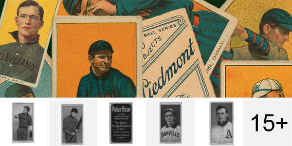 Vintage Baseball Cards Brushes