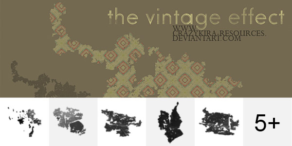The Vintage Effect Brushes