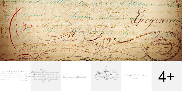 Vintage Script Brush