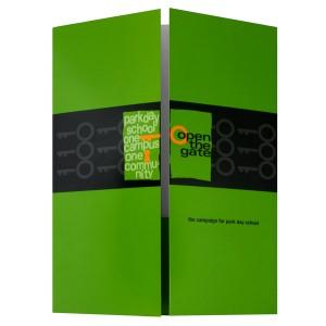 Gatefold Folder Design