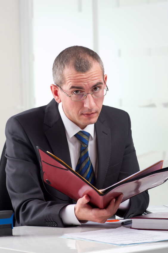 Lawyer With Legal Folder