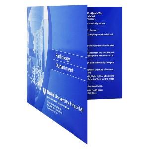 Presentation Folder with CD Pocket