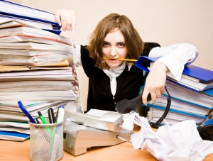 Unorganized Lawyer Without Legal Folders