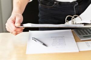 Bookkeeping Binder