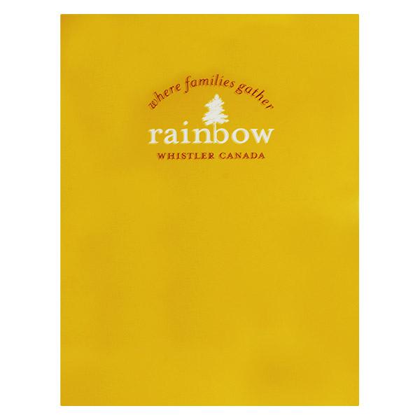 Yellow Presentation Folder with Logo