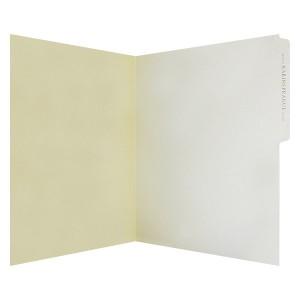 Presentation Folder with Tab