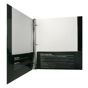 Binder With Pockets