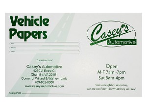 5 Design Tips for Auto Service Document Holders