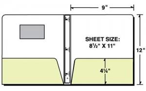 Die-Cut Window Binder