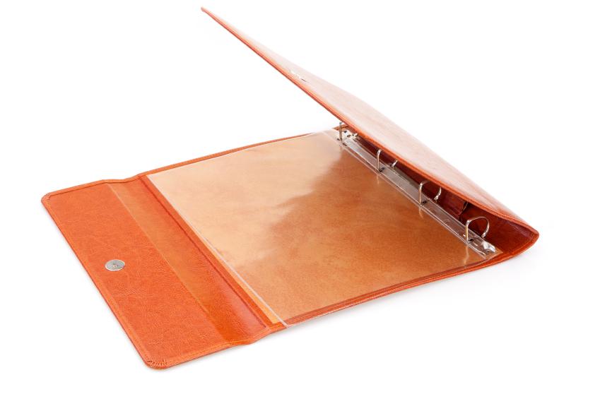 Custom Vinyl Binder
