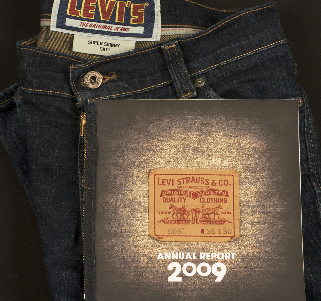 Levi Strauss Annual Report Cover