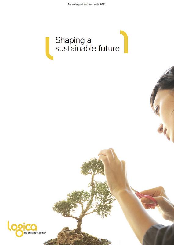 Logica Annual Report Cover