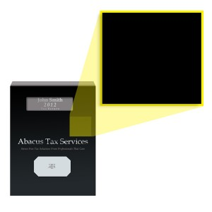Tax Return Cover Stock