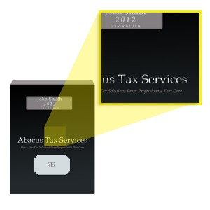 Tax Return Report Cover Logo