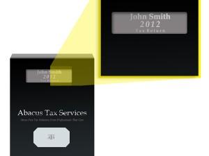 tax-return-report-cover-window
