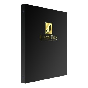 Binder with Foil Stamping