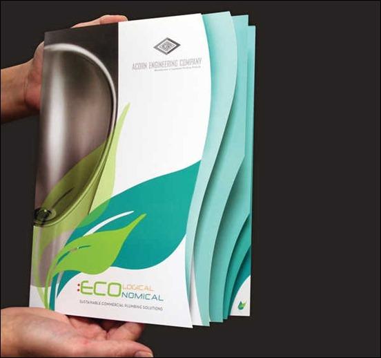 Creative Die-Cut Brochure