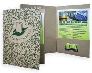 Eco-Friendly Presentation Folder