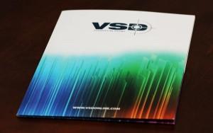 Four Color Printed Folder