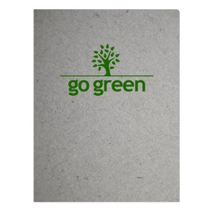 Folder with Green Agricultural Ink