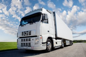 Ground shipping via truck
