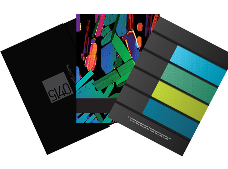 Varied Selection of Presentation Folders