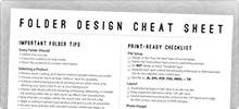 Folder Design Cheat Sheet