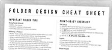 Folder Design Cheat Sheet