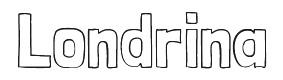 Londrina font