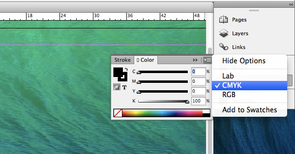 Conversion to CMYK in InDesign CS6