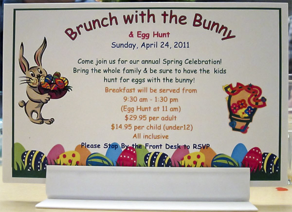 Worst Fonts Example - Comic Sans (Invitation)