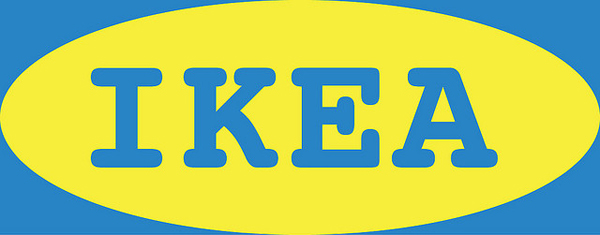 Worst Fonts Example - Courier (Ikea Logo)