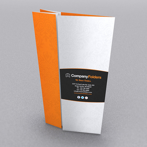 9 Stylish Folder & Brochure Folds For Print Designers