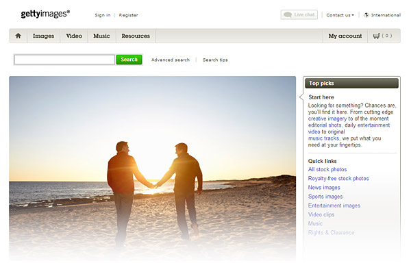 Best Stock Photo Sites - Getty Images
