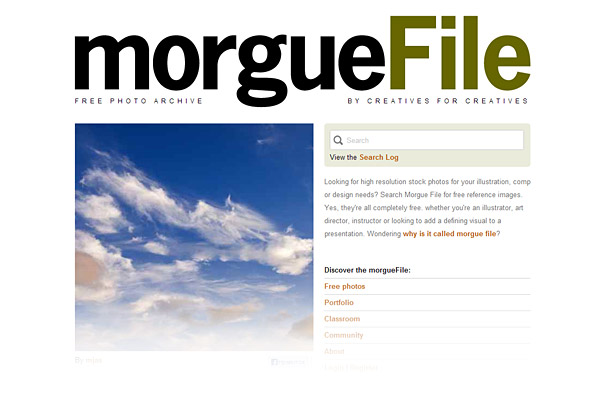 Best Stock Photo Sites - morgueFile