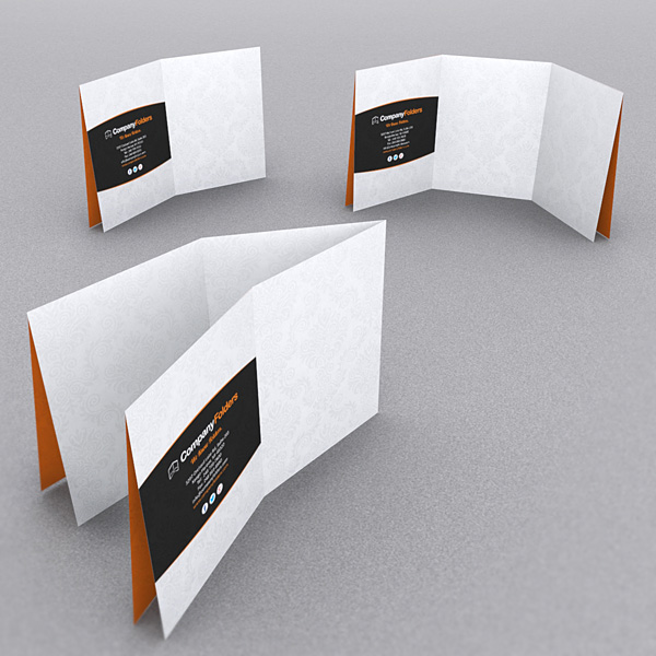 9 stylish folder brochure folds for print designers