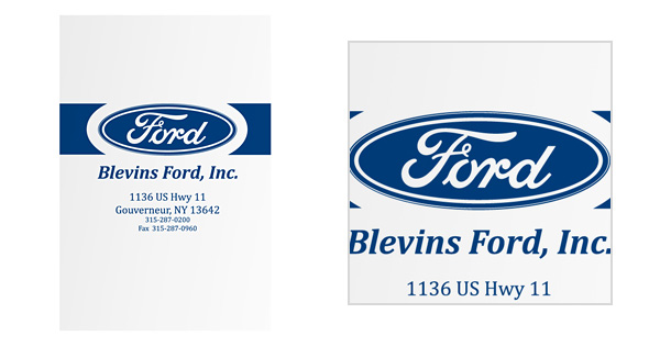 Ford Folder with Emblem Logo Style