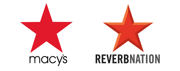 Macy's vs. ReverbNation Logo Design