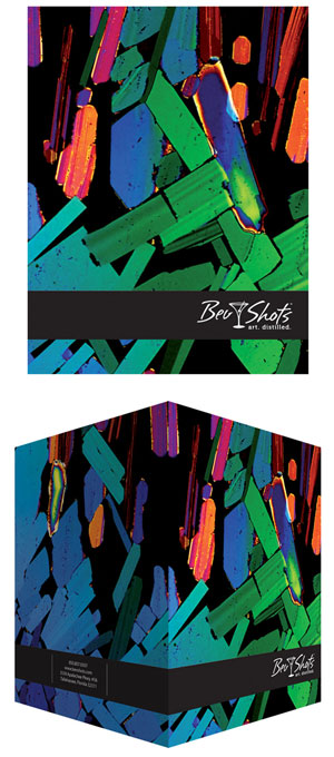 BevShots Award Winning Presentation Folder Design