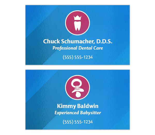 Latest Print Design Trends - Generic Business Card Template