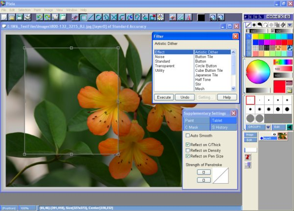 Free Photoshop Alternatives for Windows - Pixia