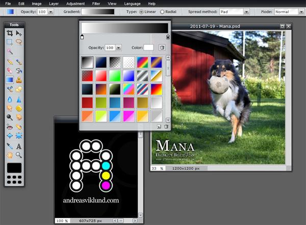 Online Photoshop Alternatives - Pixlr