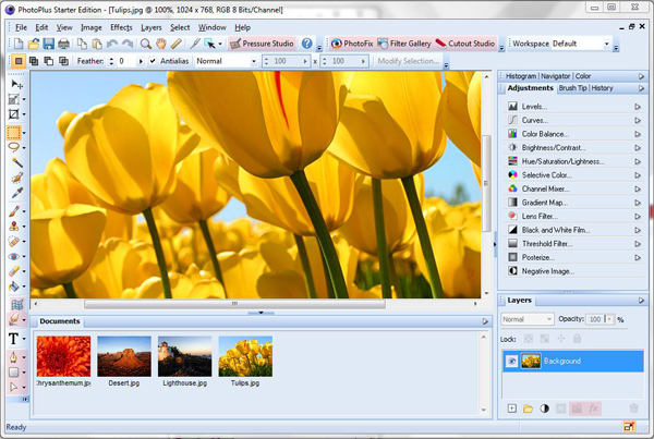 Free Photoshop Alternatives for Windows - Serif PhotoPlus
