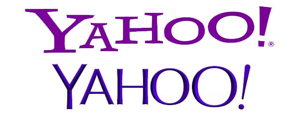 Yahoo Logo Change