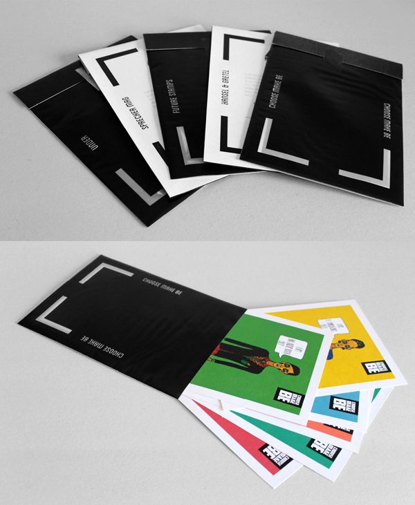 Printed Graphic Design Portfolio Example   Raquel Boavista