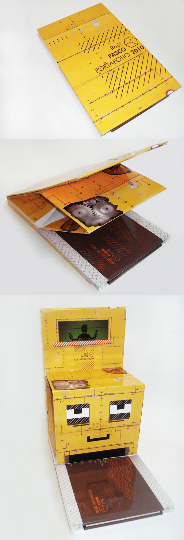 Printed Graphic Design Portfolio Example - Raul Pasco