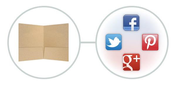 Social Media in Print Ads - Separating Social Media vs. Print Marketing