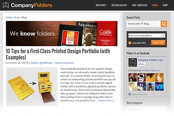 Folder Blog - 2012