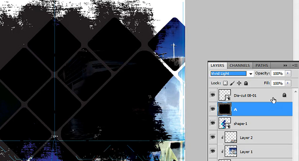 Creating a Clipping Mask in Photoshop - Step 9